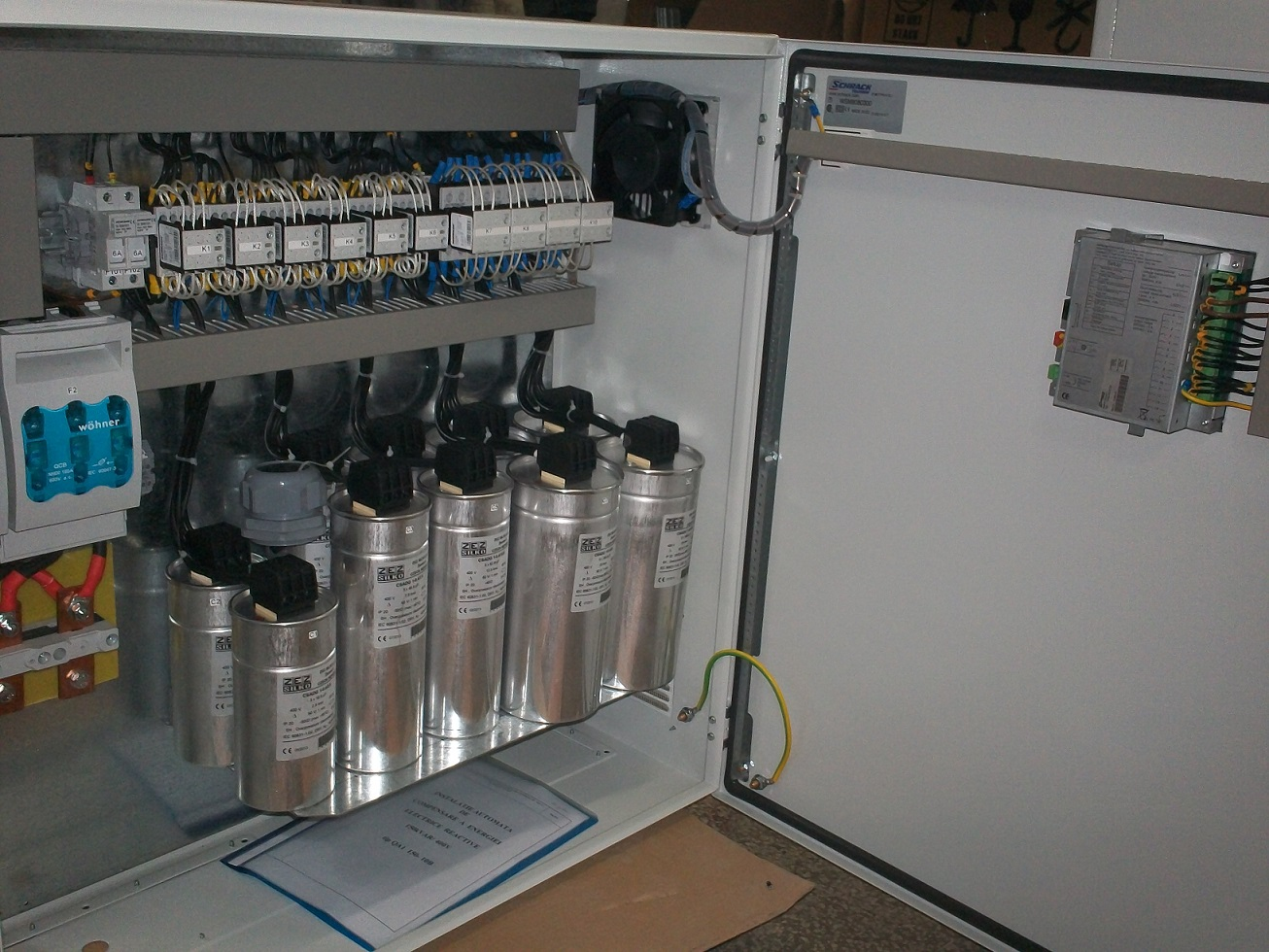 low_voltage_capacitor_banks